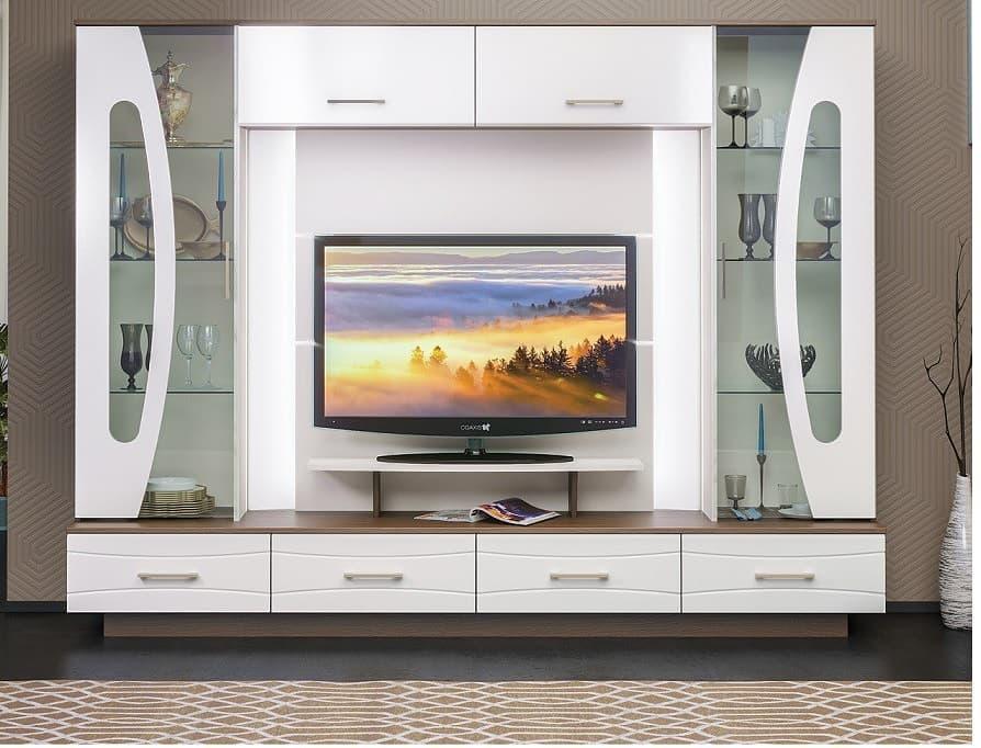 Стенки горки для гостиной современные фото