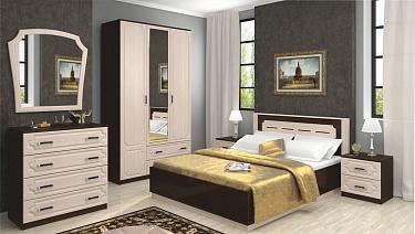 спальня венеция купить по низкой цене в магазине мебель легко в